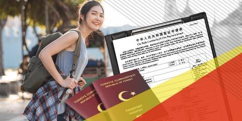 Çin Turistik Vizesi